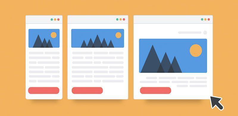 diseñar los sitios web de menos a más