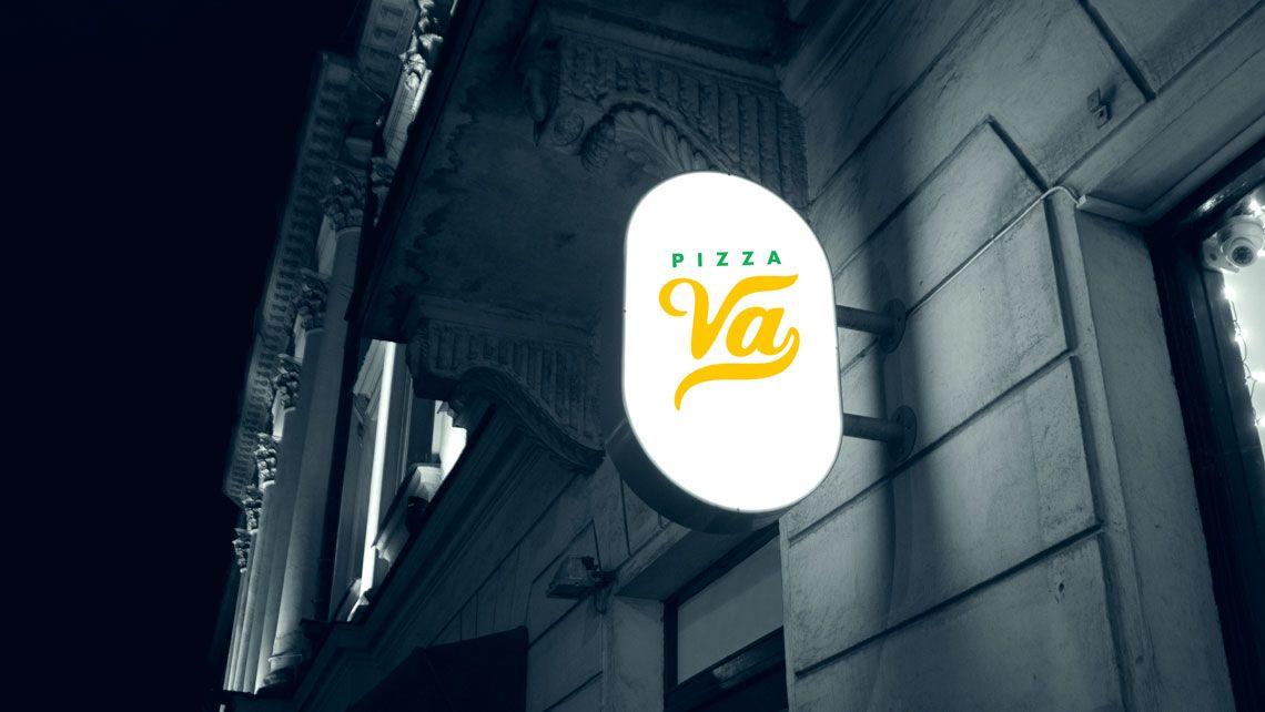 logotipo para pizzeria