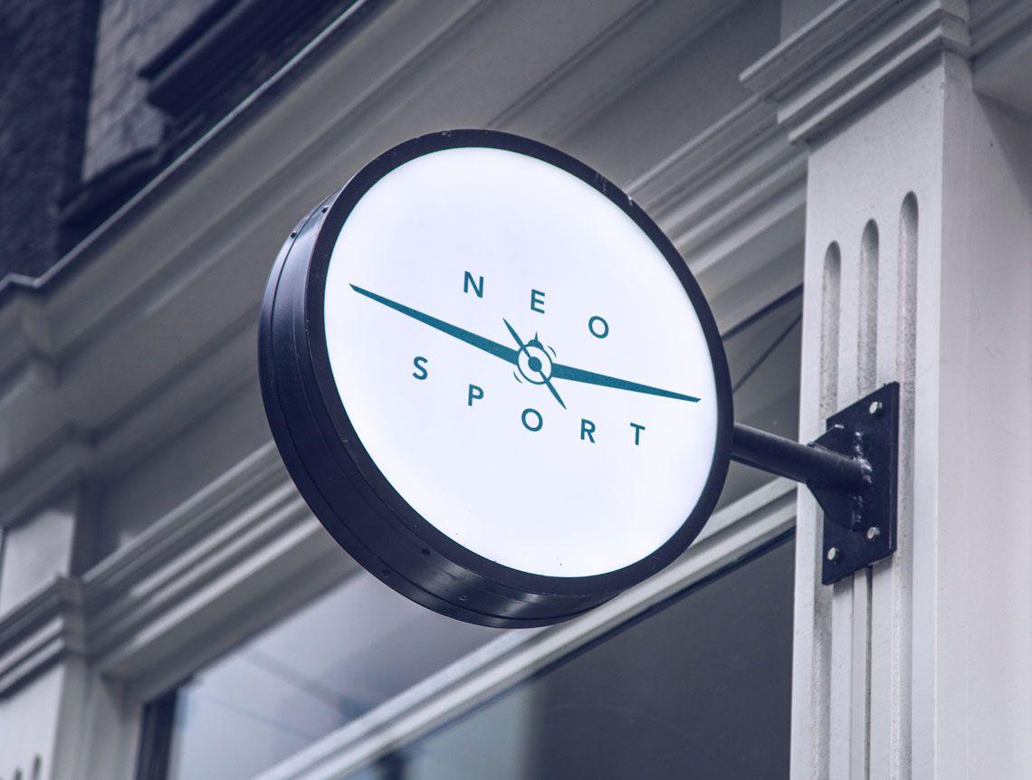 logotipo para Neo Sport