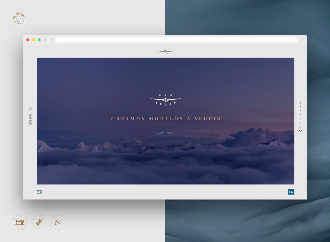 diseño web para Neo Sport