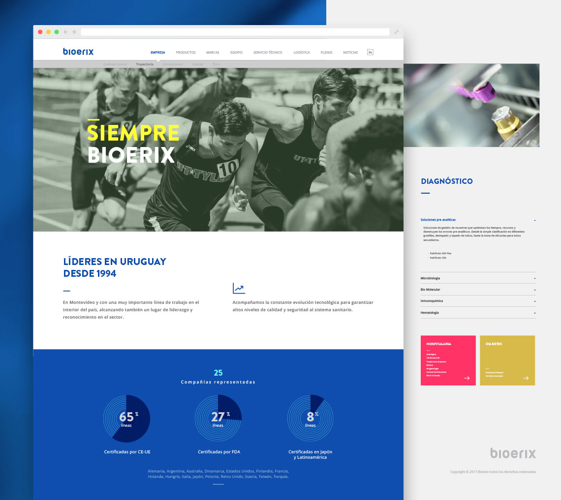 layout bioerix web by Garamond