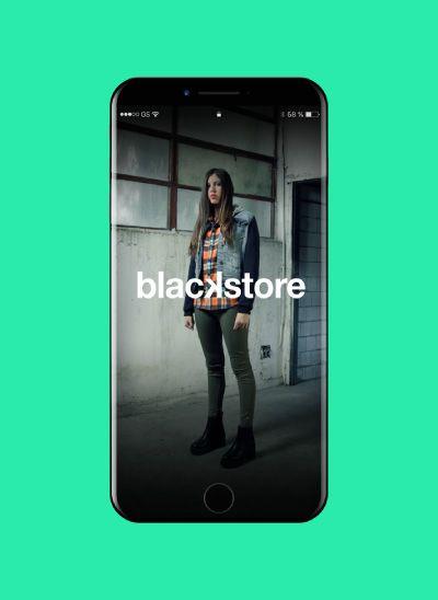proyecto sitio web para blackstore