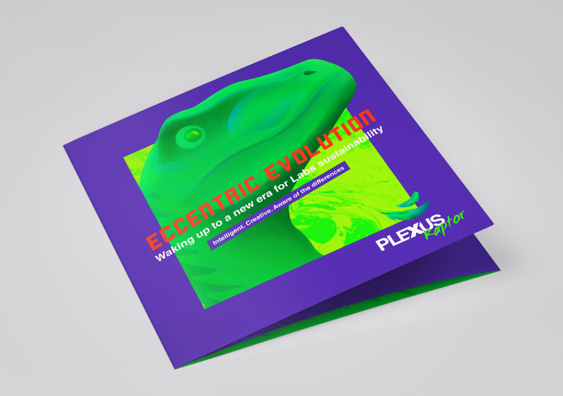Diseño de triptico Plexus raptor