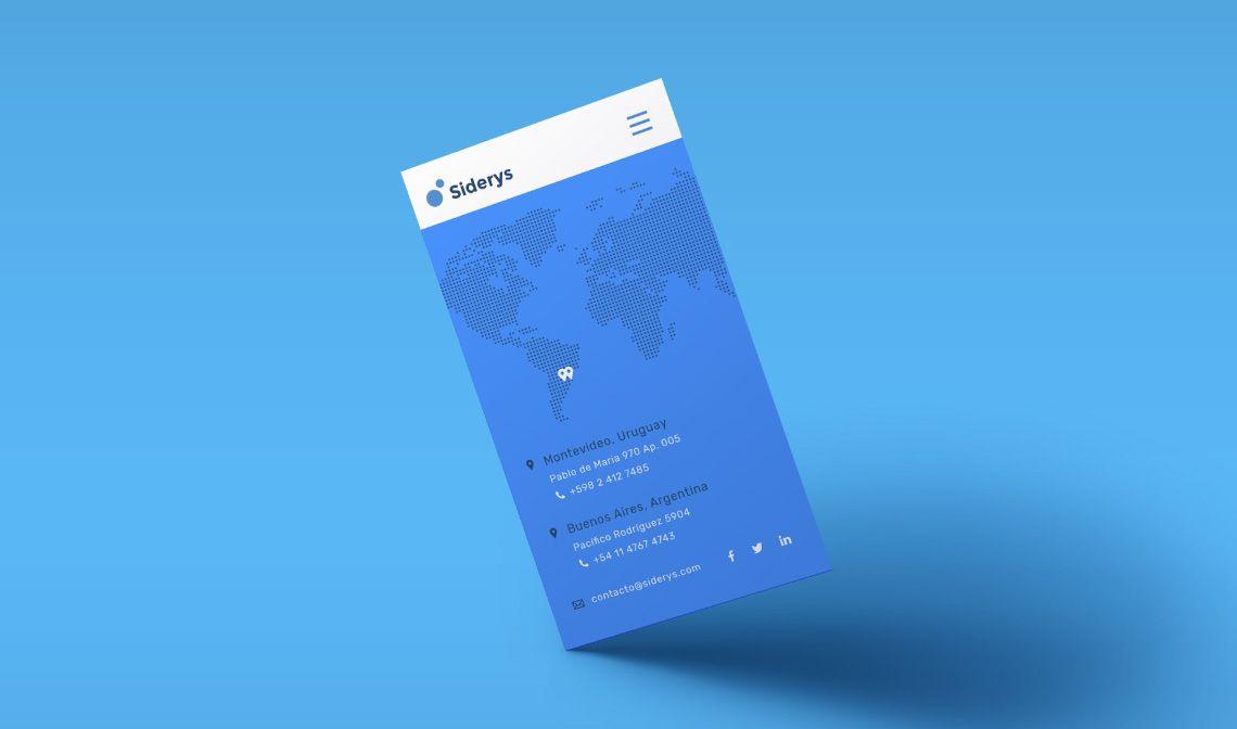 mockup mobile web design