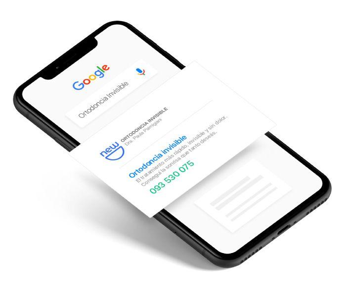 Buscador de Google - Ortodoncia Invisible